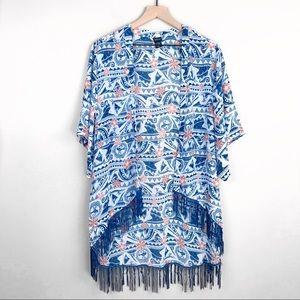 Disney Size Large Fringe Moana Kimono